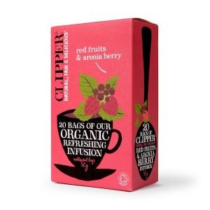 Clipper Organic Red Fruits & Aronia Berry Infusion 20s