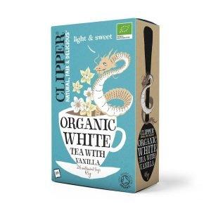 Clipper Organic White Tea with Vanilla 26s