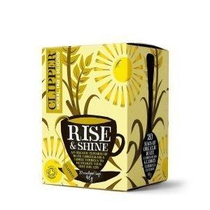 Clipper Rise & Shine Organic Infusion Tea 20s