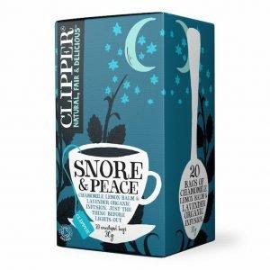 Clipper Snore & Peace Organic Infusion Tea 20s