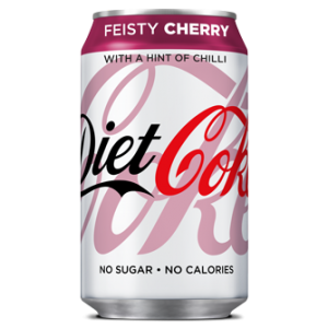 Coca Cola Diet Coke Feisty Cherry 330ml