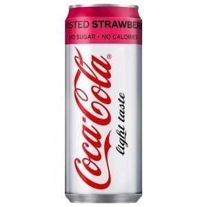 Coca-Cola Light Twisted Strawberry 33cl