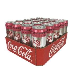 Coca-Cola Light Twisted Strawberry 33cl x 20st