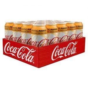 Coca-Cola light Exotic Mango 33cl x 20st