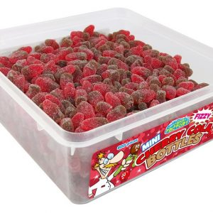 Crazy Candy Factory Mini Fizzy Cherry Cola Bottles 1.2kg