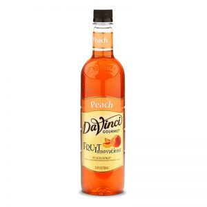 DaVinci Gourmet Syrup Fruit Innovations Peach 750ml