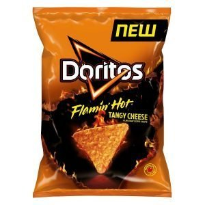 Doritos Flamin Hot Tangy Cheese 170g