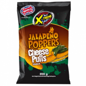 Double Dutch Jalapeno Poppers Cheese Curls 40g
