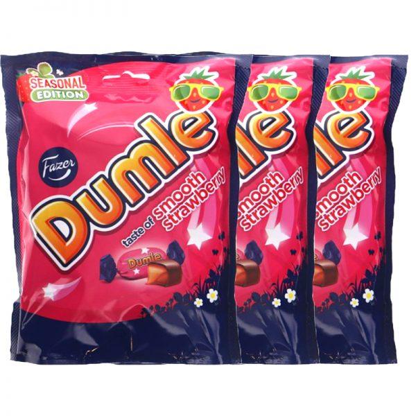 Dumle Jordgubb 3-pack - 40% rabatt