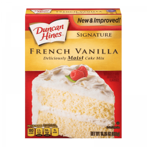 Duncan Hines Signature French Vanilla Cake Mix 432g