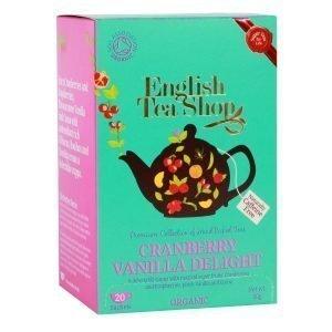English Tea Shop - Cranberry Vanilla Delight