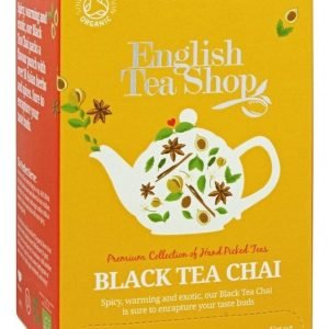 English Tea Shop - Ekologiskt Svart Chai