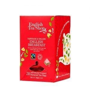 English Tea Shop English Breakfast Ø - 20 Påse