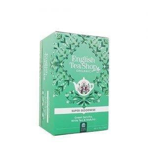 English Tea Shop Green Sencha White Tea & Matcha Ø - 20 Påse