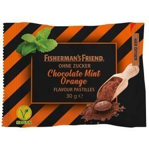 Fishermans Friend Chocolate Mint Orange 25g