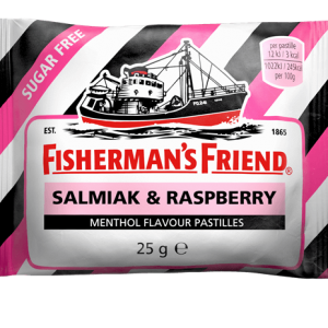 Fishermans Friend Salmiak & Raspberry 25g