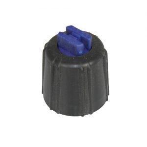 Flatstrålemunstycke storflöde blå 1 2 l/min vid 3 bar