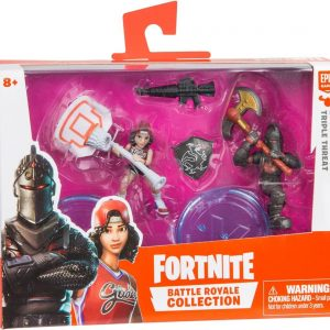 Fortnite Samlarfigurer Black Knight & Triple Threat Duo Pack
