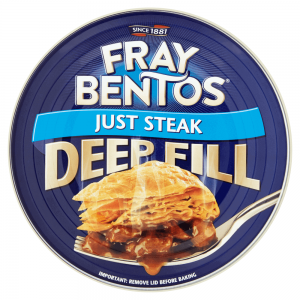 Fray Bentos Deep Fill Just Steak 475g
