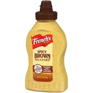 Frenchs Spicy Brown Deli Mustard 340g