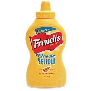 Frenchs Yellow Mustard 396g