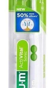 GUM Activital Sonic batteritandborste Vit 1 st