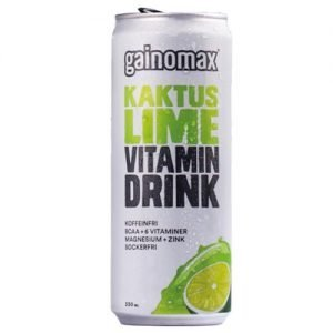 Gainomax Vitamindrink Kaktus/Lime 33cl