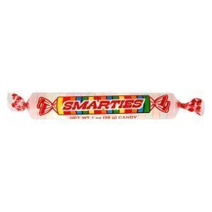 Giant Smarties Candy Rolls 28g