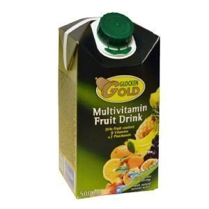 Glocken Gold Multvitamin fruktdryck 50cl