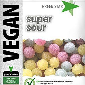 Green Star Vegan Super Sour 100g