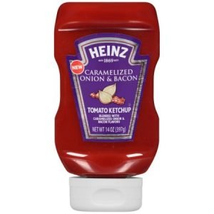 Heinz Ketchup with Caramelized Onion & Bacon 397g