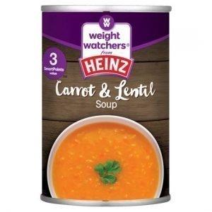 Heinz Weight Watchers Carrot & Lentil Soup 295g