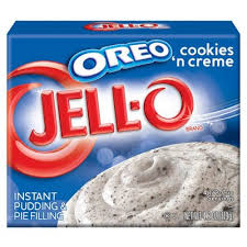 Jello Instant Pudding Oreos Cookies N Cream