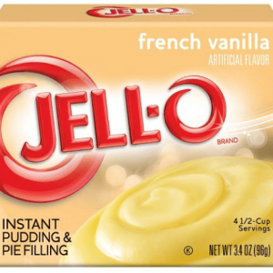 Jello instant Pudding Mix - French Vanilla 96g