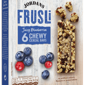 Jordans Frusli Juicy Blueberries Cereal Bars