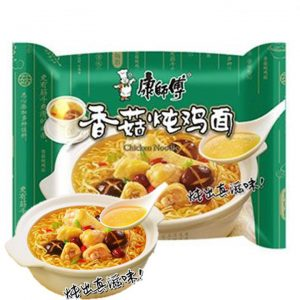 Kang Shi Fu Instant Noodle Mushroom and Stewed Chicken Flavor 100g