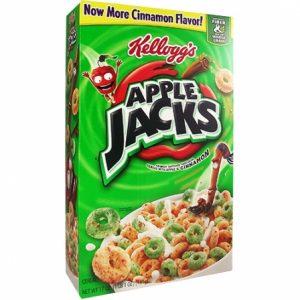 Kelloggs Apple Jacks 481gram