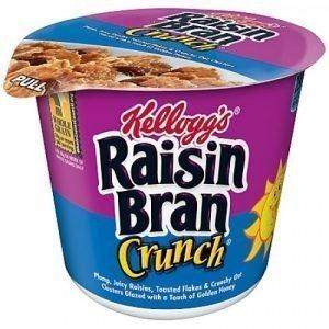 Kelloggs Raisin Bran Cereal Cup 80g