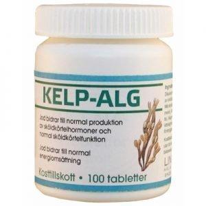 Kelp-Alg, 100 tabletter