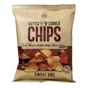 Kettle Cooked Sweet BBQ Chips 150g