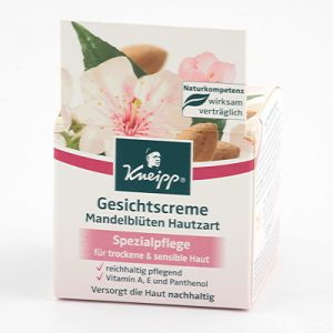 Kneipp face cream 50ml soft skin almond blossom