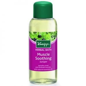 Kneipp herbal bath oil 100ml juniper/ enbär muscle soothing