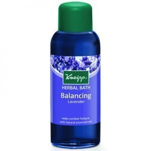 Kneipp herbal bath oil 100ml lavender balancing