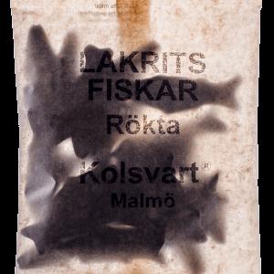 Kolsvart Lakrits - Rökta Fiskar 120g