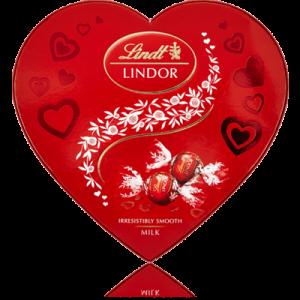 Lindor Hjärta mjölkchoklad 200g