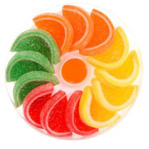 Makarena jellies with fruit flavour 200g