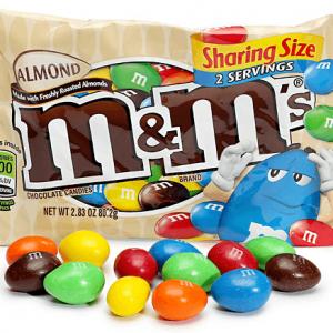 M&Ms Almond 80gram