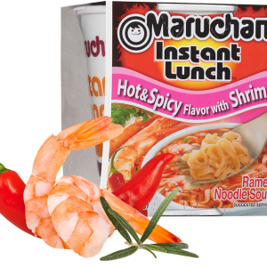 Maruchan Instant Lunch - Hot & Spicy Shrimp Noodles