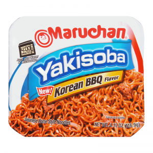 Maruchan Korean BBQ Yakisoba Noodles 116.9g
