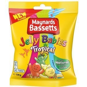 Maynards Bassetts Jelly Babies Tropical 165g